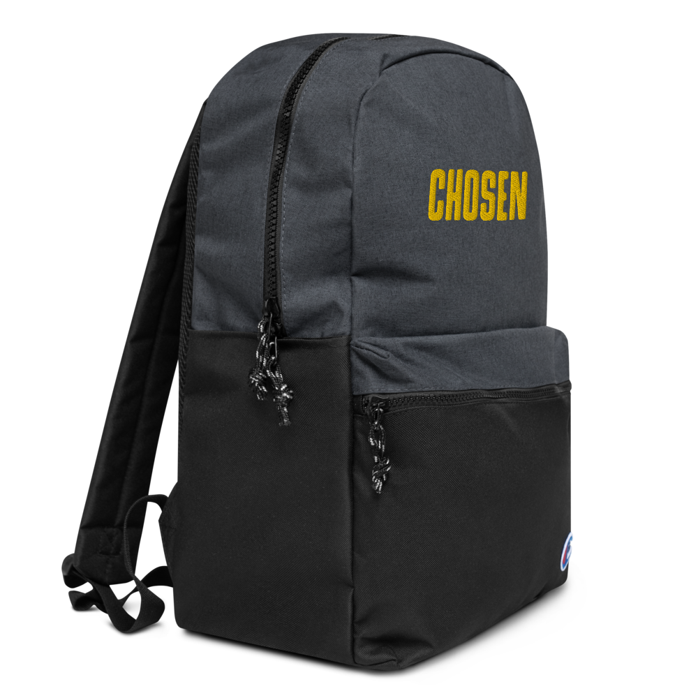 Chosen Embroidered Champion Backpack