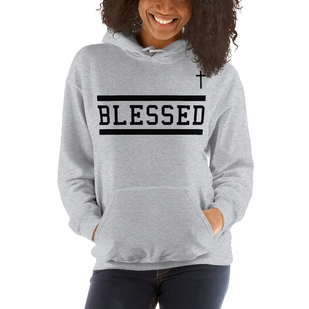 Blessed Hoodie (Heather Grey)