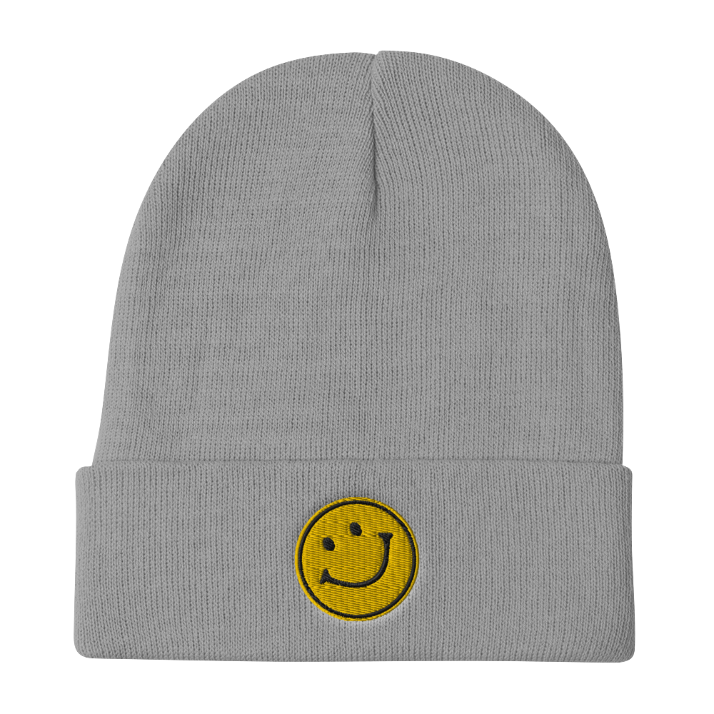 Chosen Smiley Embroidered Beanie