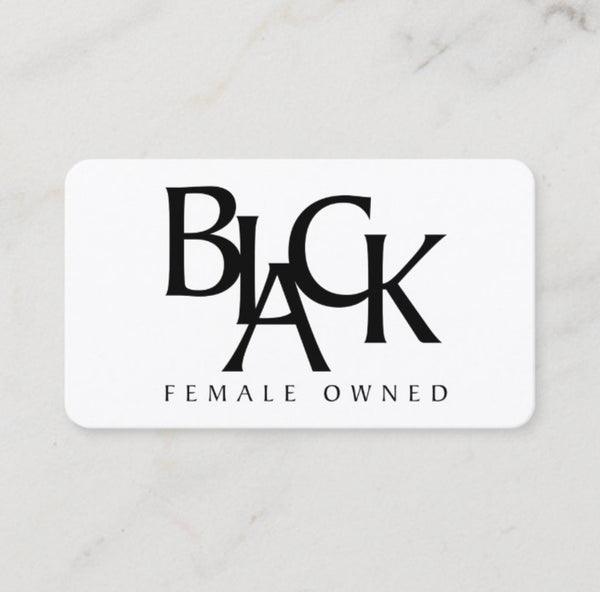 Black Female Owned Gift Card