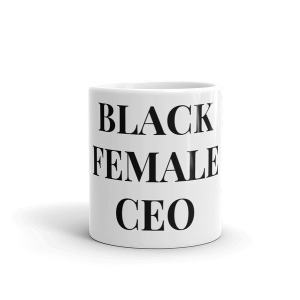 BLACK FEMALE CEO MUG
