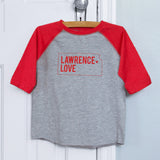 Lawrence Love Youth Raglan Shirt (#389) - Lawrence Love