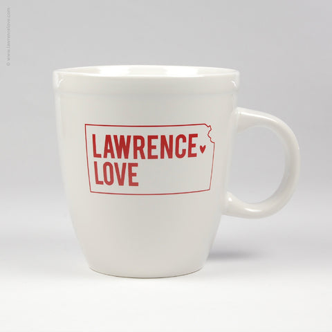 Lawrence Love Latté Mug (#409) - Lawrence Love