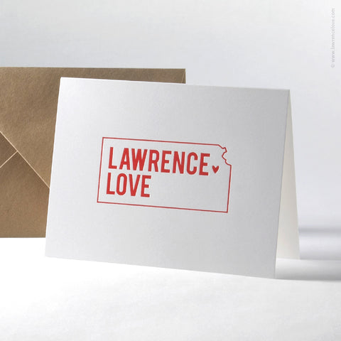 Lawrence Love Note Card (#421) - Lawrence Love
