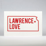 Lawrence Love Vinyl Decal (#423) - Lawrence Love