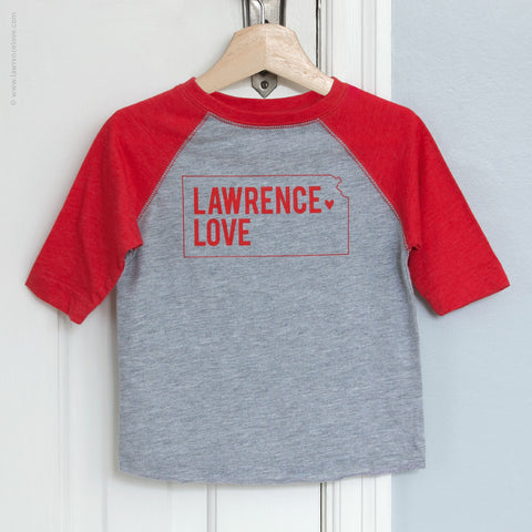 Lawrence Love Toddler Raglan Shirt (#425) - Lawrence Love