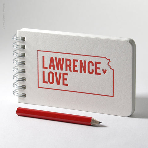 Lawrence Love Small Spiral Notebook (#490) - Lawrence Love