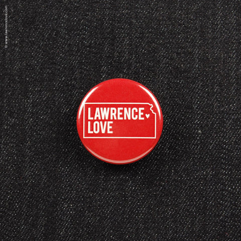 Lawrence Love Button (#601) - Lawrence Love