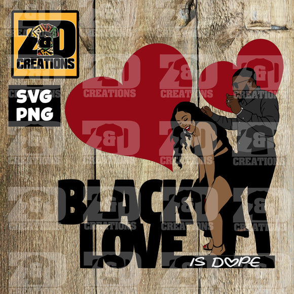 BLACK LOVE  DIGITAL FILE