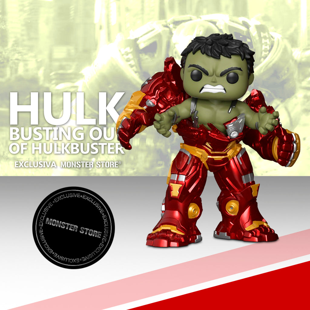 Hulk Busting out of Hulkbuster