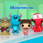 Monsters, Inc. - Set completo (4pzs)