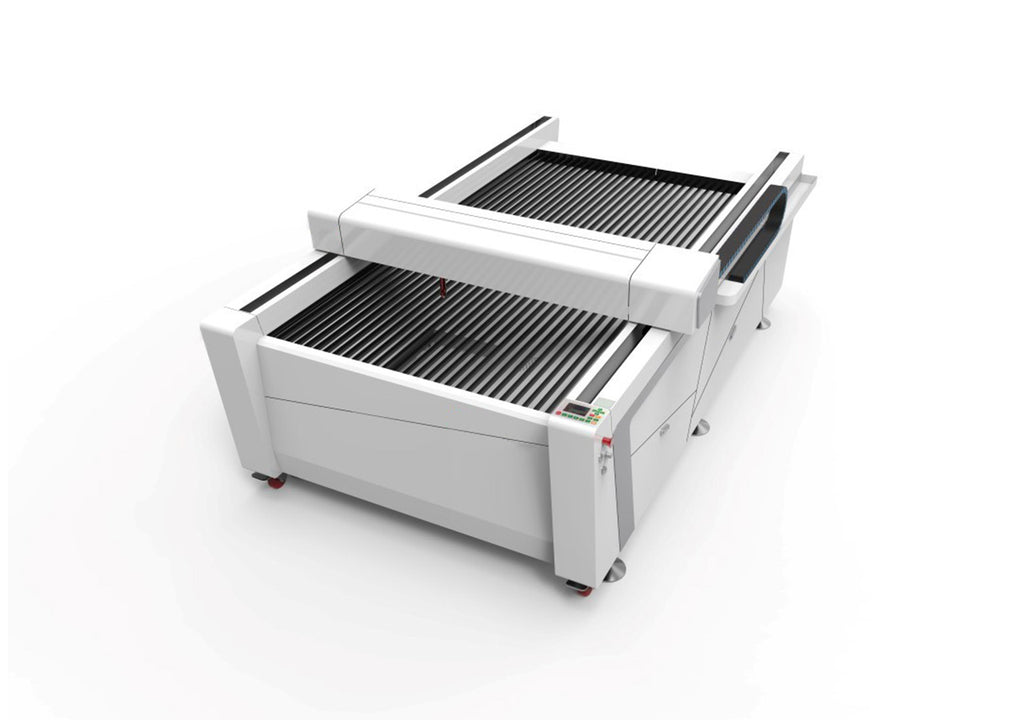 Bodor BCL-B Flatbed CO₂ Laser Engraver from above