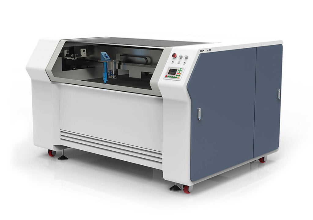 Bodor BCL-XM CO₂ Laser Engraver & Cutter for Metal perspective view