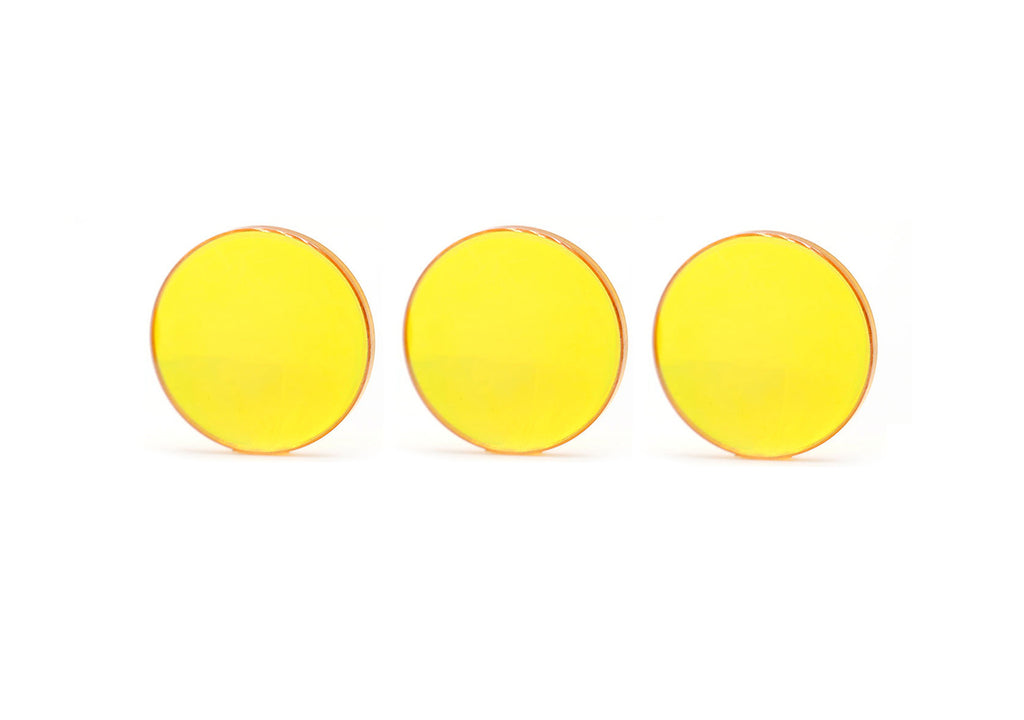 Three CO₂ Laser Replacement Mirrors
