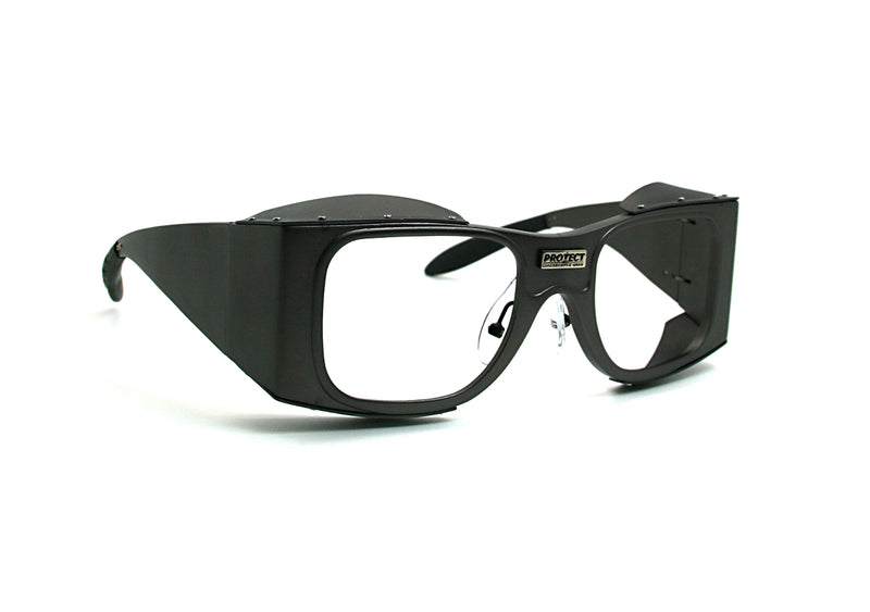 Retro laser protection eyewear