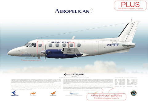 Aeropelican ~ Embraer EMB-110P1 VH-TLH