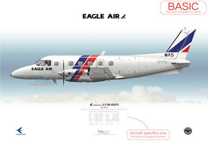 Eagle Air ~ Embraer EMB-110P1 ZK-NAS ~ 1986