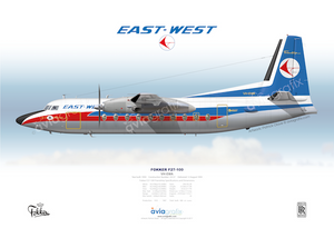 East-West Airlines ~ Fokker F27-100 VH-EWA ~ 1970