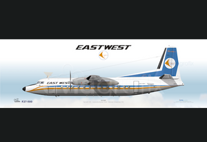 East-West Airlines ~ Fokker F27-500 VH-EWP ~ 1975
