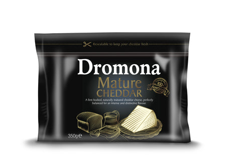 Dromona Mature Cheddar Cheese - 350g