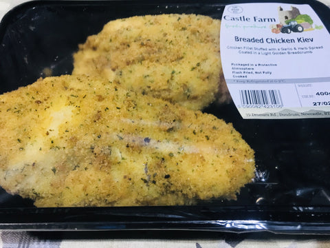 GARLIC CHICKEN KIEV'S