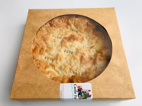 Mince and onion pie