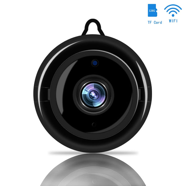 Wireless WIFI IP Mini Camera Smart Home Security Infrared Night Vision Surveillance Camera SD Card Cloud Storage CCTV Monitor