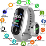 M3 Plus Smart Bracelet Heart Rate Blood Pressure Health Waterproof Smart Watch M3 Pro Bluetooth Watch Wristband Fitness Tracker