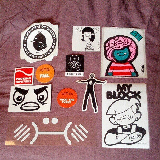 Abe Lincoln Jr. Sticker Grab Bag