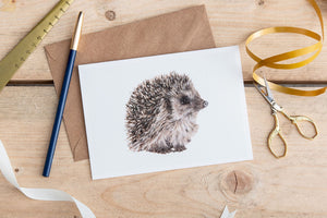 Percy Hedgehog Greeting Card