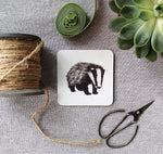 Boris Badger Coasters