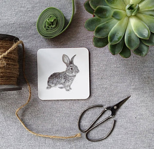 Daisy Rabbit Coasters