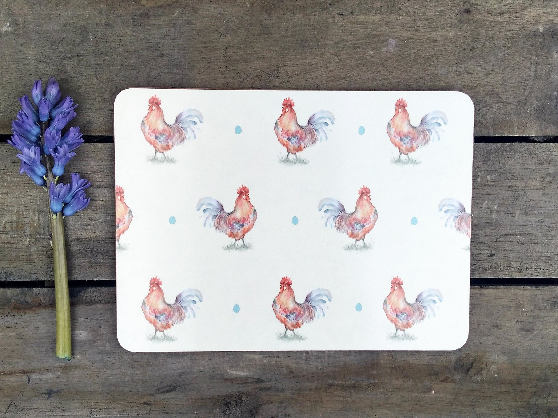 Cockerel Placemats