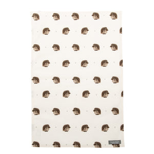 Percy Hedgehog Tea Towel
