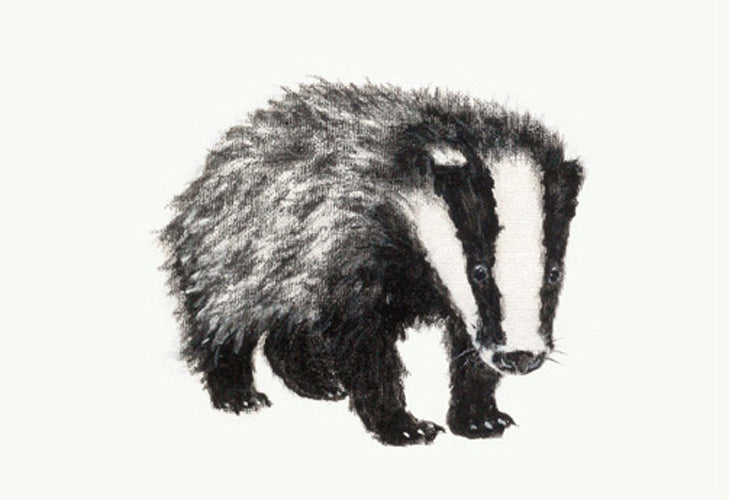 Boris Badger Giclee Print