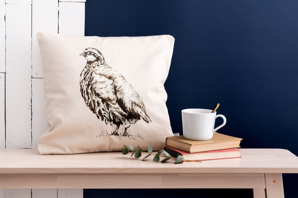 Lady Partridge Cushion