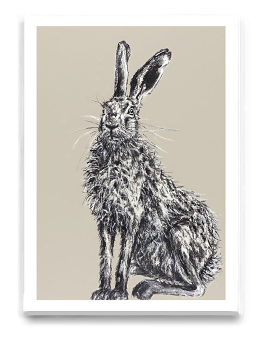 Henry Hare Greeting Card