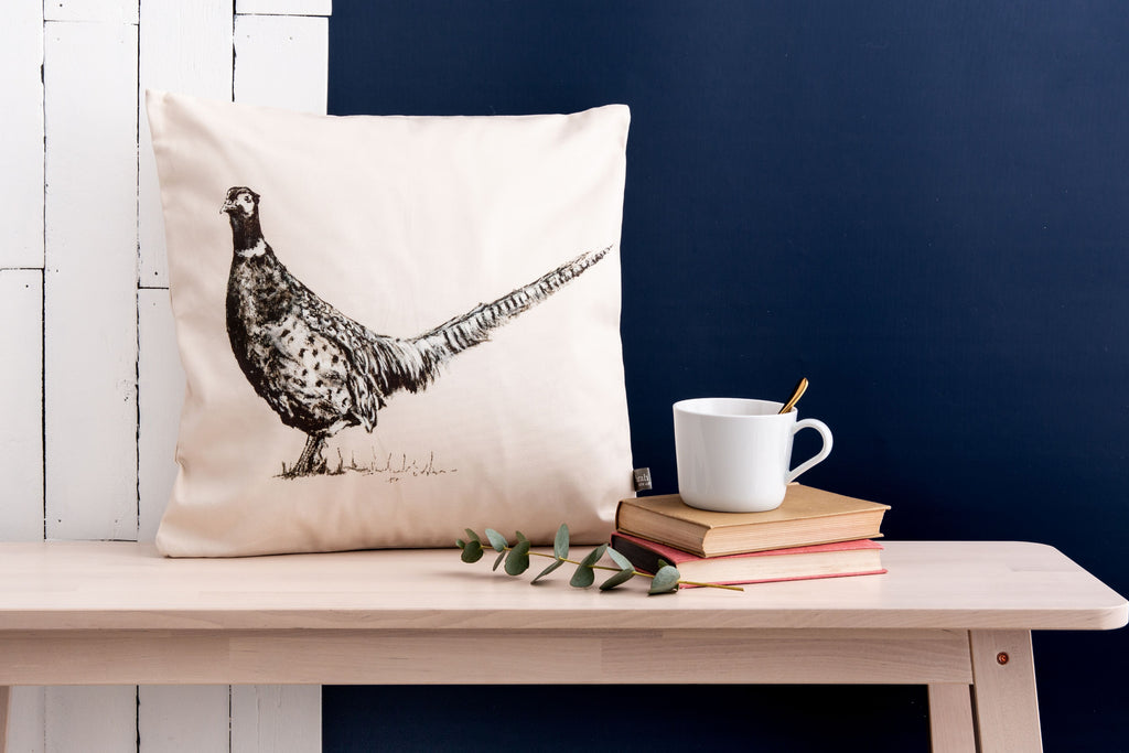 Lord Pheasant Cushion