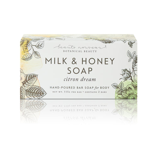 Citron Dream Milk & Honey Soap (2 bars)