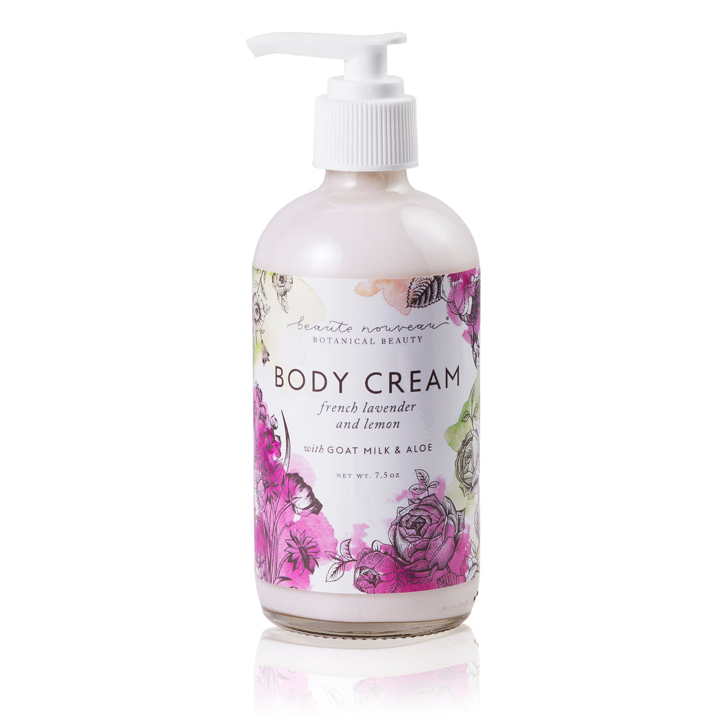 Lavender & Lemon Body Cream