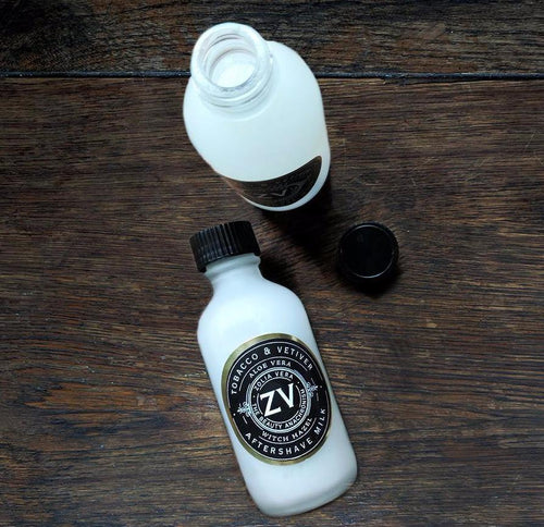 ZV Aftershave Milk (2 oz glass bottle))