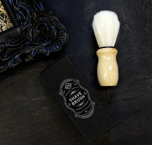 ZV Natural Bristle Shaving Brush