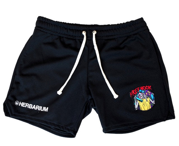FREE MOOK x HERBARIUM BASKETBALL SWEAT SHORTS