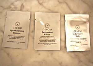 CELOUI Three Samples Pack - Equilibrium Skincare Simple Steps