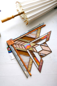 Frank Lloyd Wright Inspired Window Square