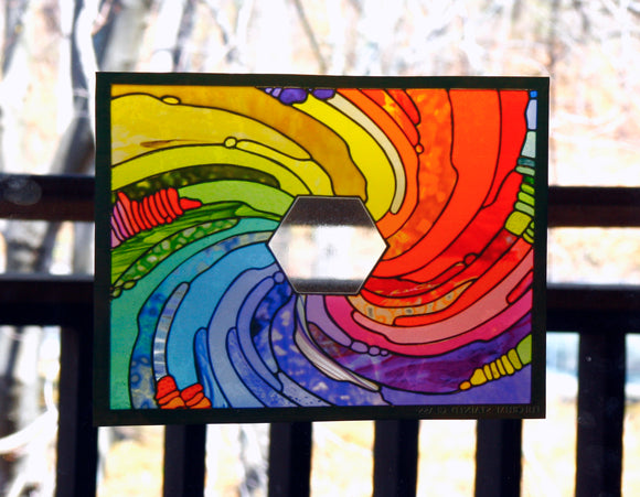 Transparent Window Cling 4x6