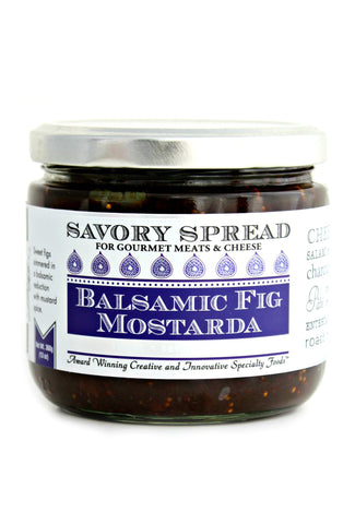 Balsamic Fig Mostarda Spread | Wozz! Kitchen Creations