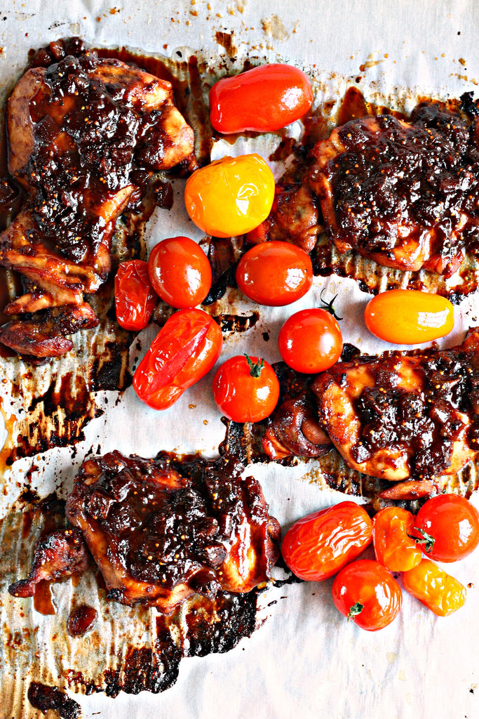 Balsamic Fig Chicken | Wozz! Kitchen Creations