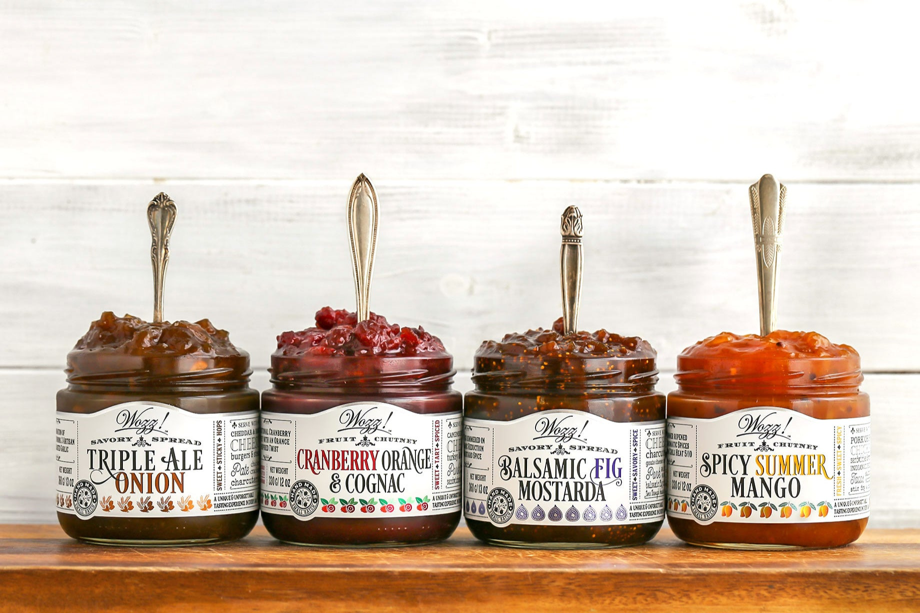 Gourmet Condiments | Sauces | Spreads | Wozz! Kitchen Creations