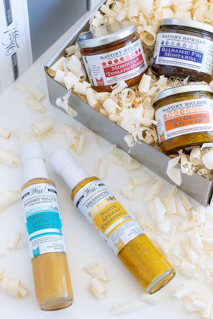 Cooking Sauces Gift | Gourmet Sauces For a Cook | Wozz! Kitchen Creations